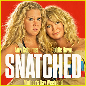 Amy Schumer & Goldie Hawn Get Close on New 'Snatched' Movie Poster