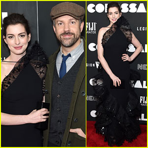 Anne Hathaway Goes Vintage for Her 'Colossal' Press Tour