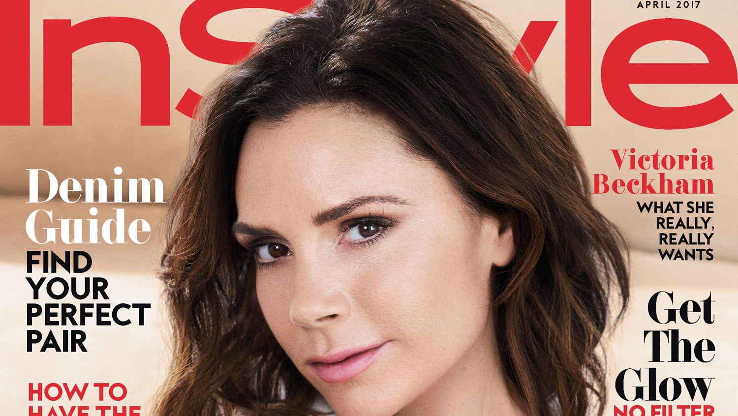 Victoria beckham covers instyle looks back at first for Victoria magazine low country style