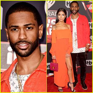 Big Sean Brings Girlfriend Jhene Aiko to iHeartRadio Music Awards 2017