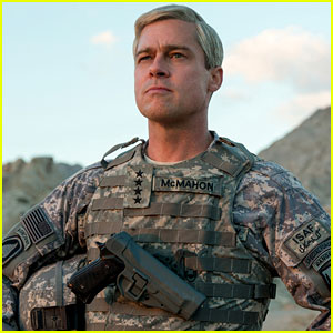Brad Pitt in 'War Machine' - Teaser & First Look Photos Revealed!