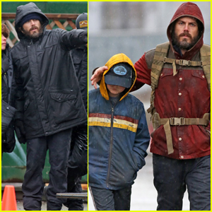 Casey Affleck Begins Filming 'Light of My Life' in Vancouver