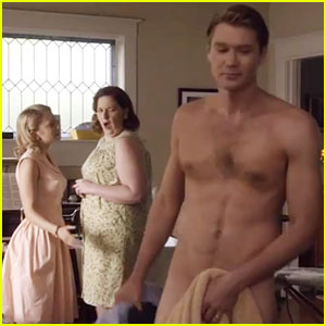 Chad Michael Murray Strips Down to Nothing, Bares His Butt for 'Sun Records' (Exclusive Clip!)