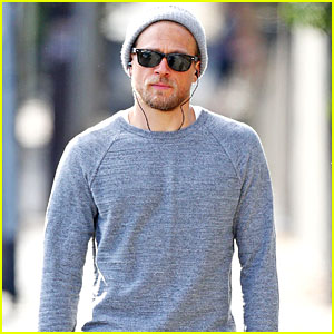 Charlie Hunnam Keeps Up His Fitness with a Hike at Runyon