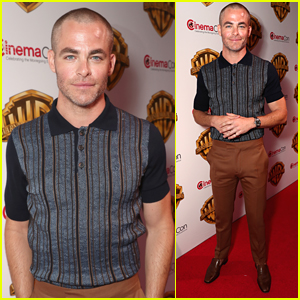 Chris Pine Shows Off Bald Hair With New Haircut!