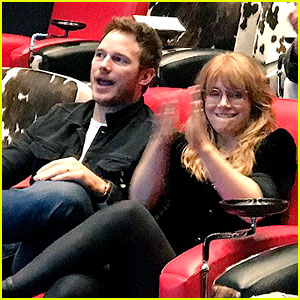 Chris Pratt & Bryce Dallas Howard's Reaction to 'Get Out' is the Best!