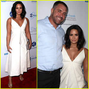 Demi Lovato Brings Her Developmental Coach to Open Mind Gala