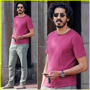 Dev Patel Grabs Lunch With Friends in Los Angeles