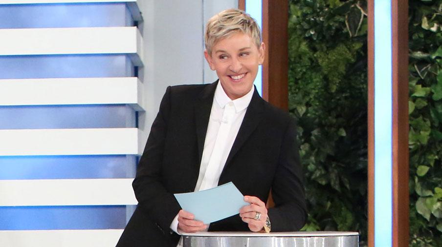 Ellen degeneres to host new game show for nbc ellen degeneres nbc television just jared - Ellen show address ...