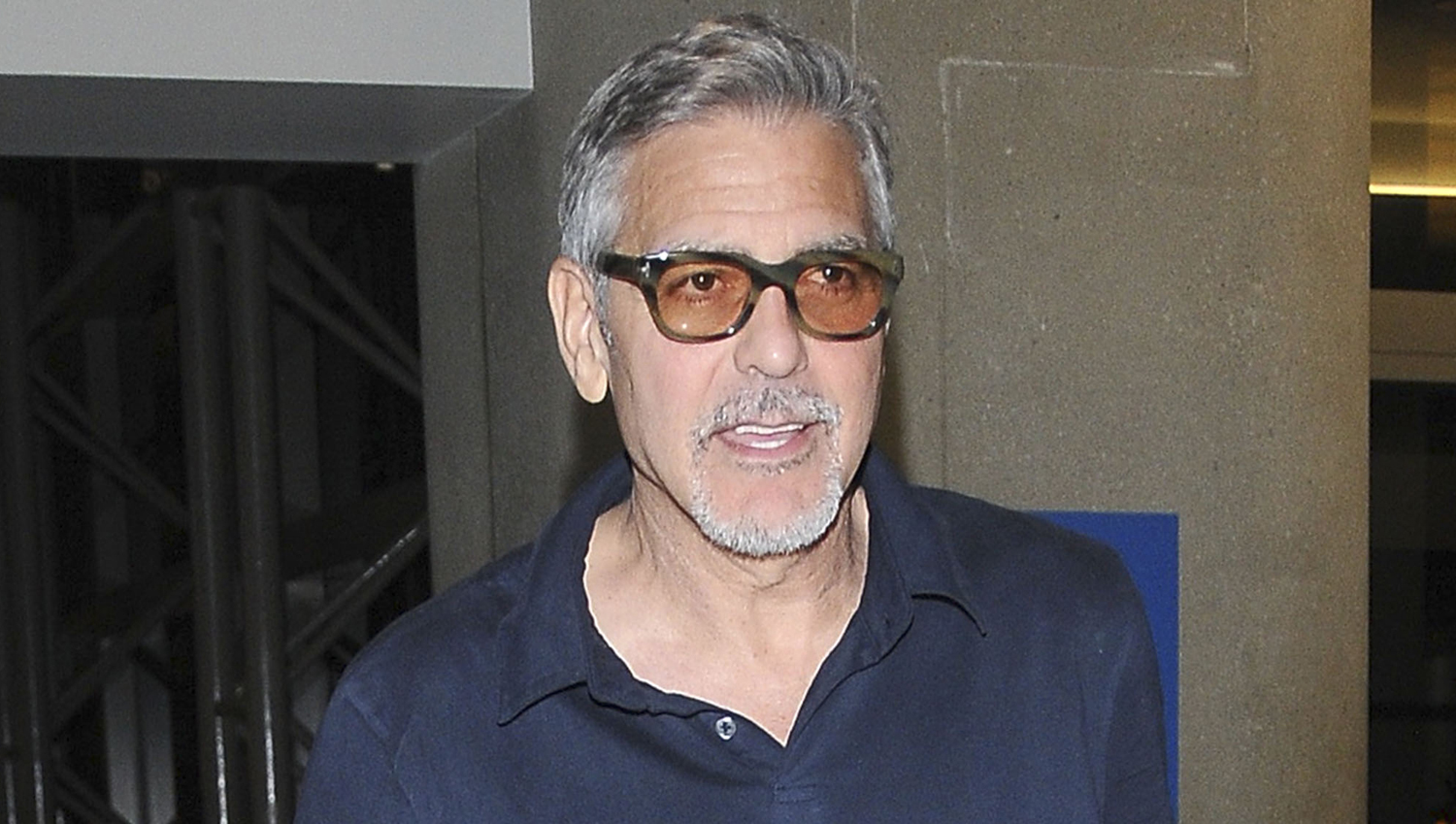 George Clooney Says He...