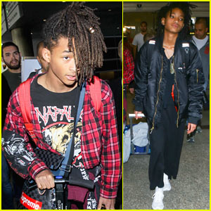 Jaden willow smith arrive home from paris fashion week jaden jaden willow smith arrive home from paris fashion week voltagebd Image collections