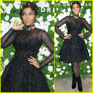 Janelle Monae Goes Glam for 'The Dress Address' Launch in NYC!