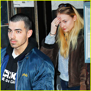 Joe Jonas & Sophie Turner Go Shopping in NYC