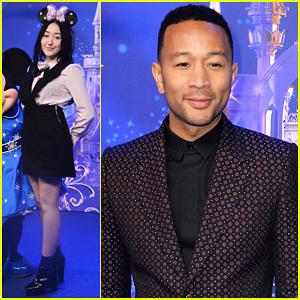 John Legend Hits The Stage At Disneyland Paris 25th Anniversary Celebration!