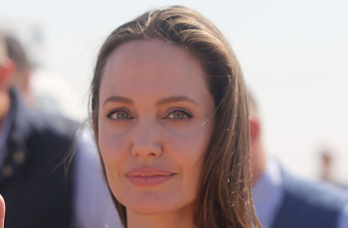 Angelina Jolie Spoke with Postgraduate Students in 'Women, Peace ...
