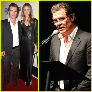 Josh Brolin Looks Handsome Attending the California Fire Foundation Gala
