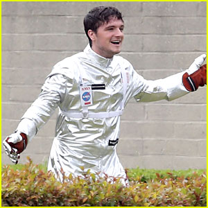 Josh Hutcherson Begins Filming for New Movie 'Future Man'