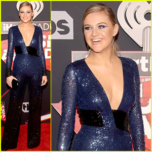 Kelsea Ballerini Sparkles All the Way to the iHeartRadio Music Awards 2017!