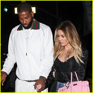 Khloe Kardashian & Boyfriend Tristan Thompson Step Out for Date Night in L.A.!