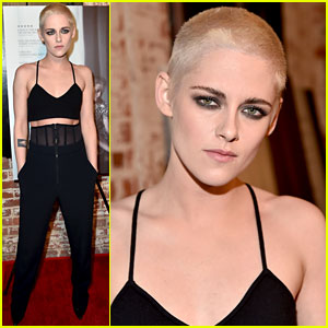 Kristen Stewart Shaves Her Head, Bleaches Hair Blonde!