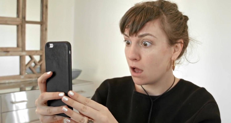 Lena Dunham Transformed Her Brows With Microblading! | Lena
