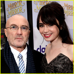 Lily Collins Forgives Dad Phil Collins for the Mistakes He's Made