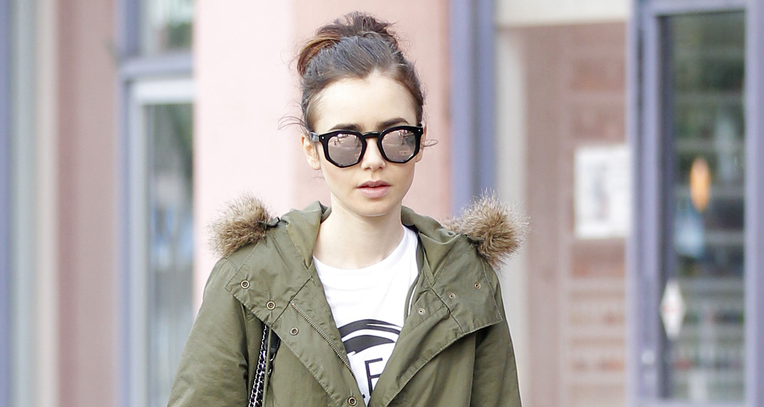Lily collins dating life