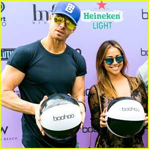 The Bachelorette's Luke Pell Cozies Up with Danielle Lombard at EDM Event