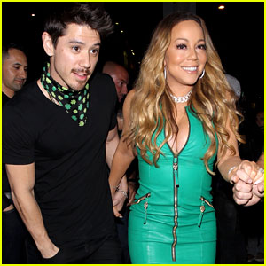 Mariah Carey Has a Festive St. Patrick's Day with Her Boyfriend & Kids