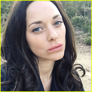 Marion Cotillard Is Unrecognizable with Fuller Lips & Long Black Hair for New Movie!