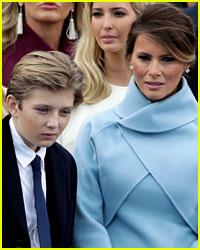 Melania & Barron Trump Will Move to the White House in June