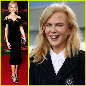 Nicole Kidman Glams Up for Her Day at the Races!