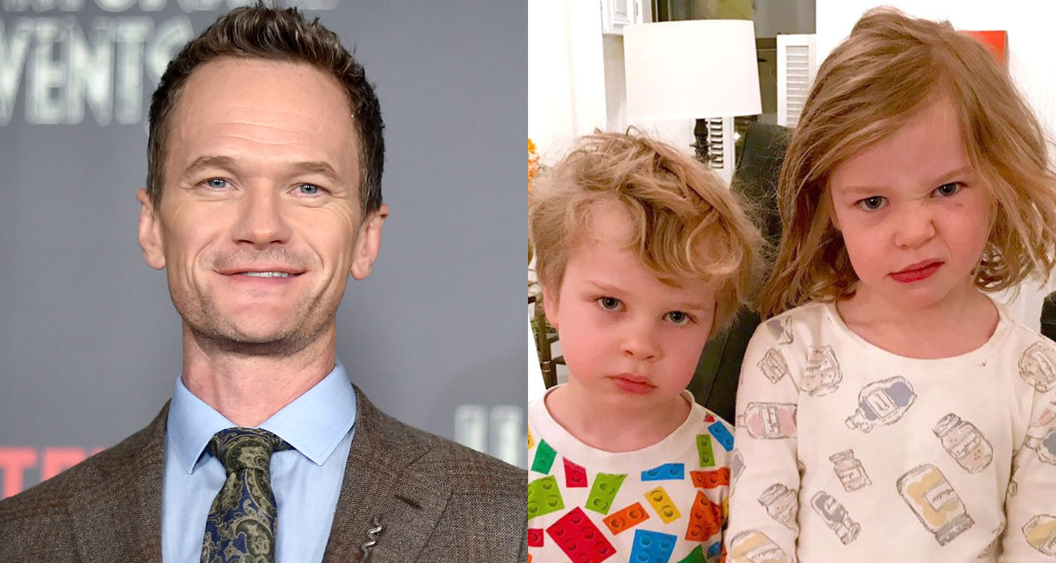 Neil Patrick Harris' Twins Are Not Happy Leprechauns Trashed Their ...