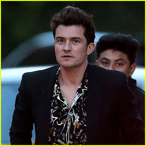 Orlando Bloom & More Stars Attend Chris Martin's 'Charlie & The Chocolate Factory'-Themed Birthday Party