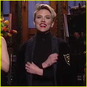 Scarlett Johansson Gets Welcomed Into Five-Timers' Club in 'SNL' Monologue - Watch Now! (Video)
