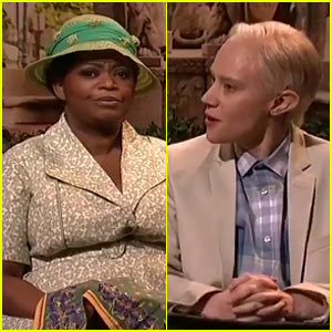 'SNL': Kate McKinnon Plays Jeff Sessions as Forrest Gump, Gets 'Help' from Octavia Spencer (Video)