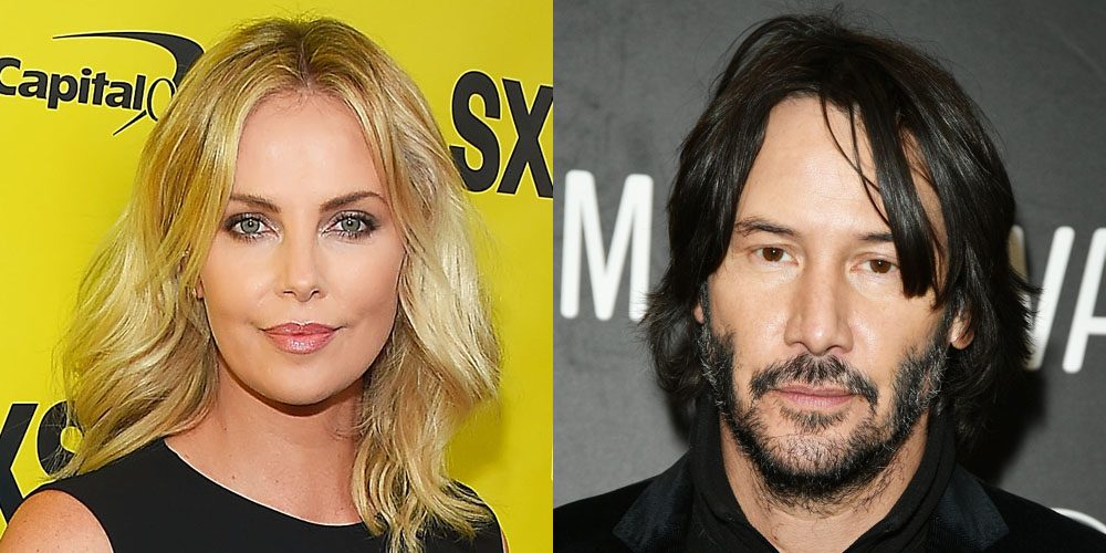 Charlize theron and keanu reeves