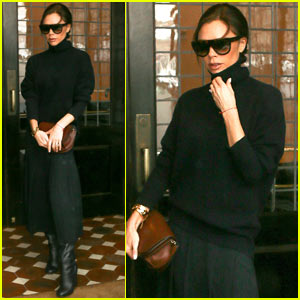 Victoria Beckham Looks Chic While Out in NYC Blizzard
