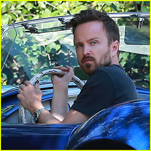Aaron Paul Offers His Definition of Art: 'What a Beautiful Word'