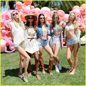 Alessandra Ambrosio Kicks Off Coachella With 'Victoria's Secret'