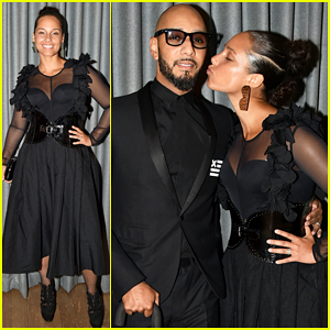 Alicia Keys & Swizz Beatz Have 'Magical Night' Together At Brooklyn Artists Ball 2017!