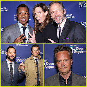 Allison Janney, Corey Hawkins & John Benjamin Hickey Get Star-Studded Support At 'Six Degrees of Separation' Opening!
