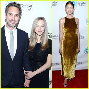 Amanda Seyfried & Thomas Sadoski Make Their First Post-Baby Appearance at World of Children Awards