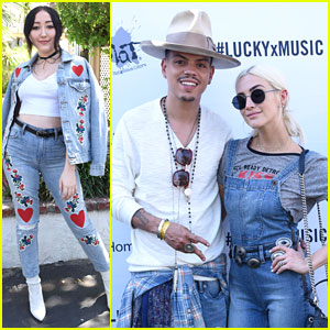 Ashlee Simpson & Evan Ross Take Parenting Break To Attend Coachella