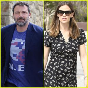 Ben Affleck & Jennifer Garner Reunite for Family Outing