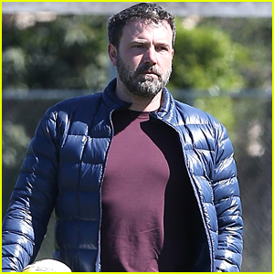 Ben Affleck Takes His Daughter to Soccer Practice