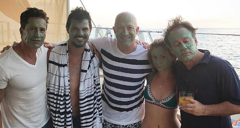 Billie Lourd Brings Boyfriend Taylor Lautner On A Family