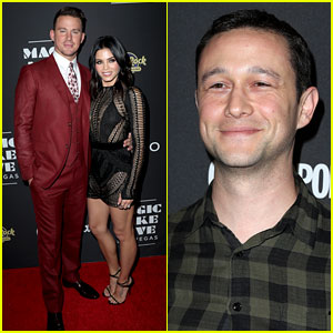 Channing Tatum Gets Support from Wife Jenna & Celeb Pals at 'Magic Mike Live' Opening!