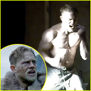 Charlie Hunnam's Muscles Are Ripped in Final 'King Arthur' Trailer