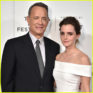 'Circle' Co-Stars Emma Watson & Tom Hanks Spill on First Impressions of Each Other (Video)